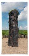 Solstice Celebrations - Menhir Stone Shepherd Bath Towel