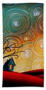 Songs Of The Night Hand Towel by Cindy Thornton