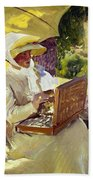 Sorolla: Painter, 1907 Bath Towel