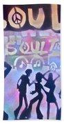 Soul Train 1 Bath Towel