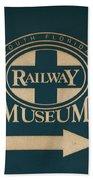 South Florida Railway Museum Bath Towel