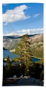 South Lake From Above Bath Towel