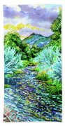 South Platte River  Bath Towel