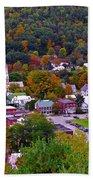 South Royalton Vermont Bath Towel
