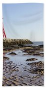 South Shields Groyne Bath Towel