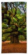 Angel Oak In Charleston Bath Towel