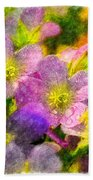 Southern Missouri Wildflowers 1 - Digital Paint 2 Bath Towel