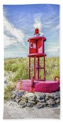 Southernmost Point Buoy- Cape May Nj Bath Towel