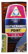 Southernmost Point Bath Towel