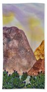 Southwest Landscape II Bath Towel