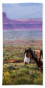 Paint Horse Bath Towel