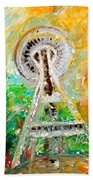 Space Needle 2016 Hand Towel