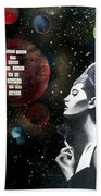 Spaced Out Bath Towel