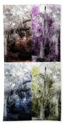 Spanish Moss Beauty Of Color Hand Towel
