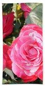 Sparkling Roses Bath Towel