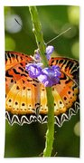 Speckled Butterfly Bath Towel