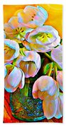 Spektrel Flowers Bath Towel