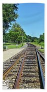 Spencer Railroad Station 2 Bath Towel