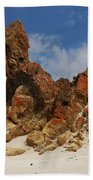 Sphinx Of South Australia Bath Sheet by Stephen Mitchell