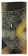 Spider's Creation Bath Towel