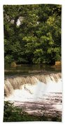 Spillway Early Morning Bath Towel