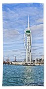 Spinnaker Tower Portsmouth Bath Towel