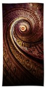 Spiral Staircase In An Old Abby Bath Towel