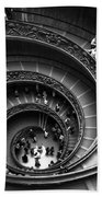 Spiral Stairs Horizontal Bath Sheet by Stefano Senise