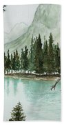 Spirit Lake Bath Towel