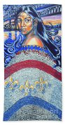 Spirit Of New Orleans/ 300 Years Bath Towel