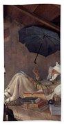 Spitzweg: Poor Poet, 1839 Hand Towel