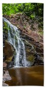 Split Rock Falls Bath Towel