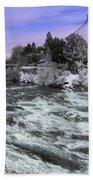 Spokane Pavilion Winter Bath Towel