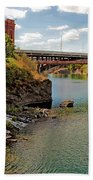 Spokane River Bath Towel