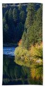 Spokane Rivereflections Bath Towel