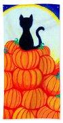 Spooky The Pumpkin King Bath Towel