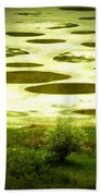 Spotted Lake Hand Towel
