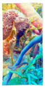 Spotty Seahorse Bath Towel