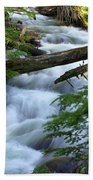 Sprague Creek Glacier National Park Bath Towel