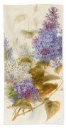 Spray Of Lilac Bath Towel