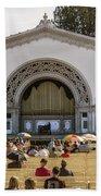 Spreckels Organ Pavilion Concert - San Diego Bath Towel