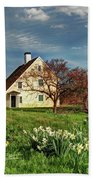 Spring At The Paine House Bath Towel