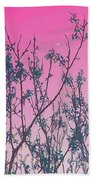 Spring Branches Rose Bath Towel