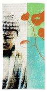 Spring Buddha Bath Towel