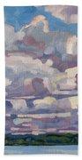 Spring Cumulus Bath Towel