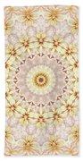 Spring Fantasy Floral Mandala Hand Towel