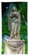 Spring Grove Angel Statue Bath Towel