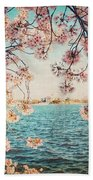 Spring In Dc Bath Towel
