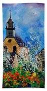 Spring In Foy Notre Dame Dinant Bath Towel