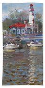Spring In Lake Shore Bath Towel